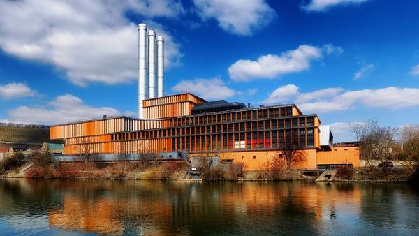 Wurzburg, Germany Factory PUBLIC DOMAIN