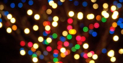 christmas lights PUBLIC DOMAIN