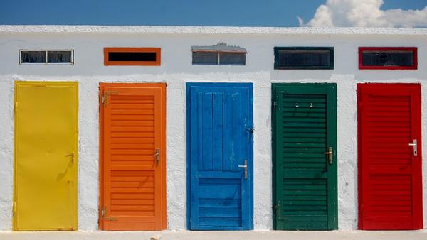 closed door PUBLIC DOMAIN