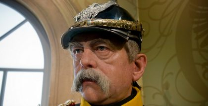 Madame Toussaud's Wax Figure of Otto von Bismark in Germany (Photo by Marcus Winter) (CC BY) (Resized/Cropped)