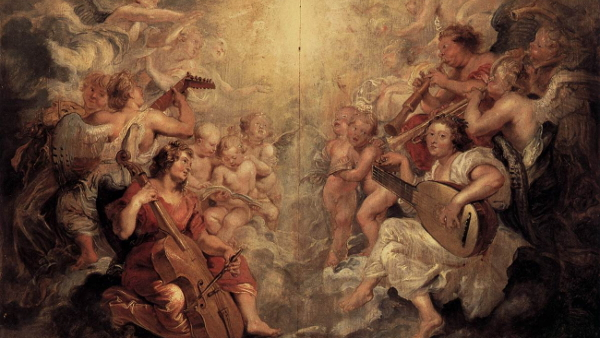 Music Making Angels (Painted by Peter Paul Rubens) {{PD-US}}