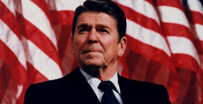 Ronald Wilson Reagan, 40th President of the United States PUBLIC DOMAIN