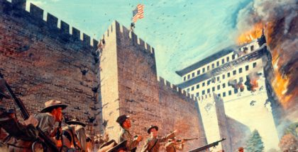 U.S. Army in the Siege of Peking, during the Boxer Rebellion in 1900 (US Army PD)
