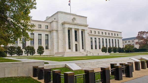 United States Federal Reserve (Photo by William Warby) (CC BY) (Resized/Cropped)