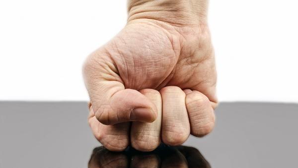 human hand fist violence PUBLIC DOMAIN