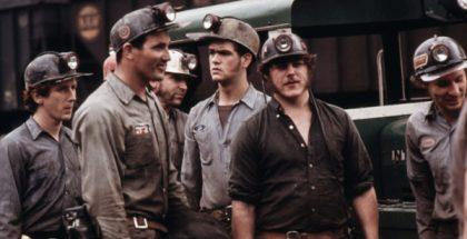 A group of miners near Richlands, Virginia (1929)