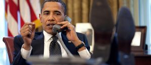 Barack Hussein Obama II, 44th President of the United States of America