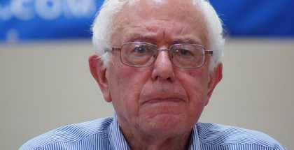 Bernard Bernie Sanders, United States Senator of Vermont  (Photo by Marc Nozell) (CC BY) (Resized/Cropped)