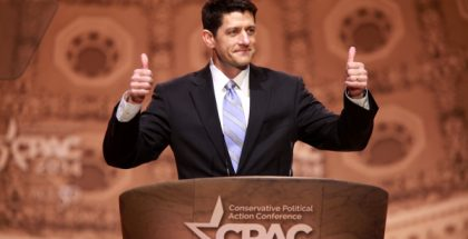 Paul Davis Ryan, Speaker of the U.S. House of Representatives  (Photo by Gage Skidmore) (CC BY-SA) (Resized/Cropped)