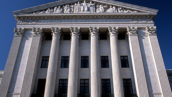 U.S. Supreme Court Building (Photo by Jeff Kubina) (CC BY-SA) (Resized/Cropped)