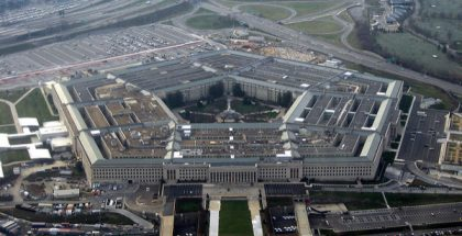 United States Pentagon in Arlington County, Virginia (Photo by David B. Gleason) (CC BY-SA) (Resized/Cropped)