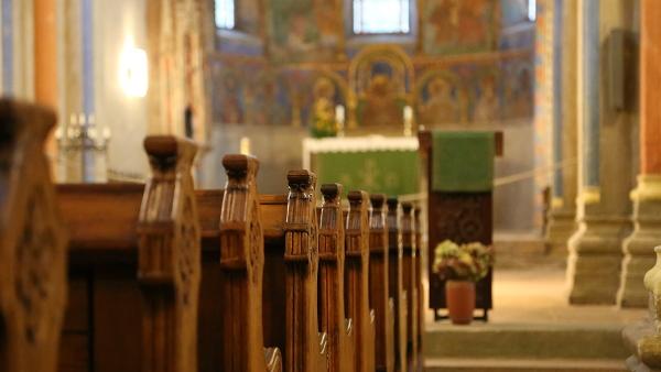 church pews PUBLIC DOMAIN