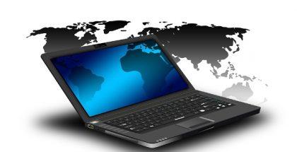 laptop globe markets PUBLIC DOMAIN