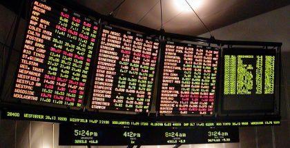 stock exchange ticker PUBLIC DOMAIN