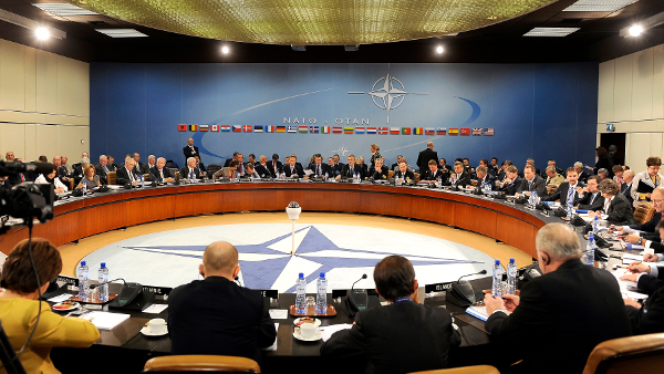NATO headquarters in Brussels, 2010