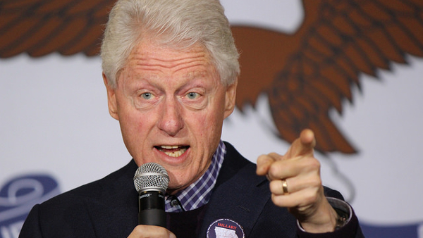 """William Jefferson """"Bill"""" Clinton, 42nd president of the United States (Photo by Evan Guest) (CC BY) (Resized/Cropped)"""