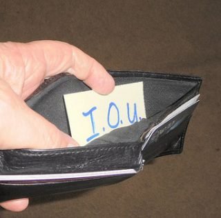 I Have Four Principles to Follow if You Have to Borrow Money