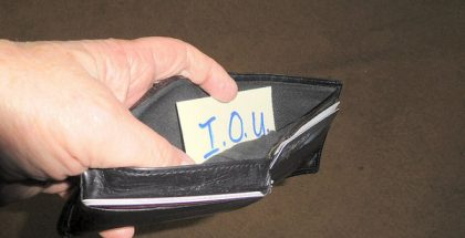 empty wallet debt (Photo by FolsomNatural) (CC BY) (Resized Cropped)