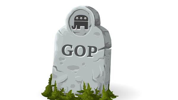 GOP gravestone PUBLIC DOMAIN