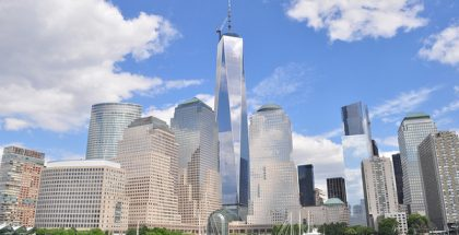 One World Trade Center, New York, New York City (Photo by Joe Mabel) (CC BY-SA) (Resized/Cropped)