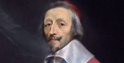 Portrait of Cardinal Richelieu (~1633-1640)