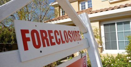 Sign Of The Times - Foreclosure (Photo by Jeff Turner) (CC BY) (Resized/Cropped)