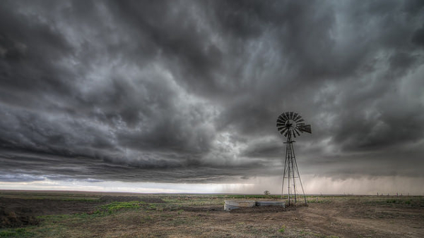 Storm over the High Plains (Photo by Lane Pearman) (CC BY) (Resized/Cropped)