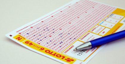 lottery paper PUBLIC DOMAIN