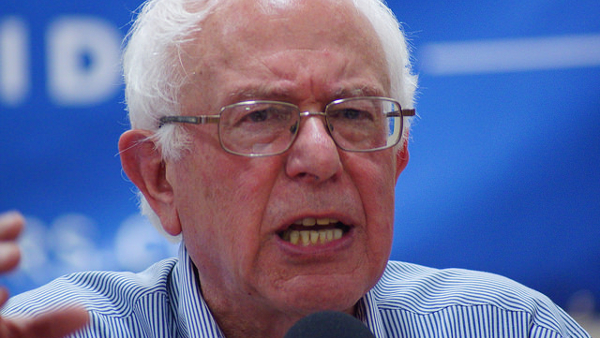 Bernard 'Bernie' Sanders, incumbent junior United States Senator from Vermont (Photo by Marc Nozell) (CC BY-SA) (Resized/Cropped)