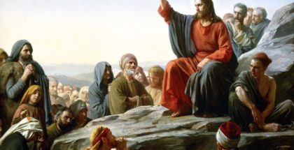 The Semon On the Mount (Painted by Carl Heinrich Bloch) (1877) {{PD-US}}