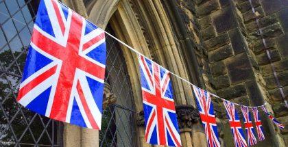 britain union jack flags PUBLIC DOMAIN