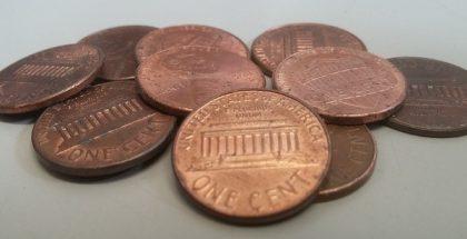 pennies PUBLIC DOMAIN