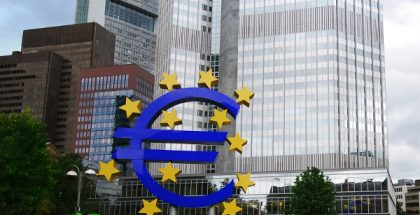 European Central Bank in Frankfurt, Germany (Photo by Eric Chan) (CC BY) (Resized/Cropped)