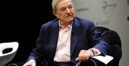 George Soros, Hungarian-American business magnate, chairman of Soros Fund Management (Photo by Niccolò Caranti) (CC BY-SA) (Resized/Cropped)