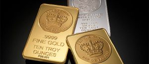 Gold and Silver Bars (Photo by Mark Herpel) (CC BY) (Resized/Cropped)