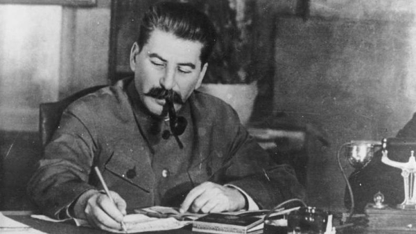 Joseph Vissarionovich Stalin, former leader of the Soviet Union (Photo courtesy of German Federal Archives) (CC BY-SA) (Resized/Cropped)