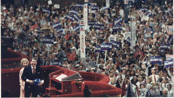 Republican National Convention in 1988 PUBLIC DOMAIN