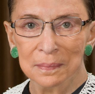 Justice Ginsburg Dropped the Mask