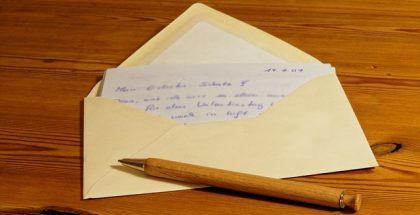 letter PUBLIC DOMAIN
