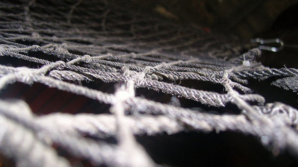 safety net (Photo by Chad) (CC BY) (Resized/Cropped)