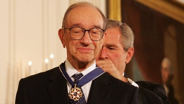 Alan Greenspan, former Chairman of the Federal Reserve of the United States
