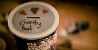 Charity Bank (Photo by fhwrdh) (CC BY) (Resized/Cropped)