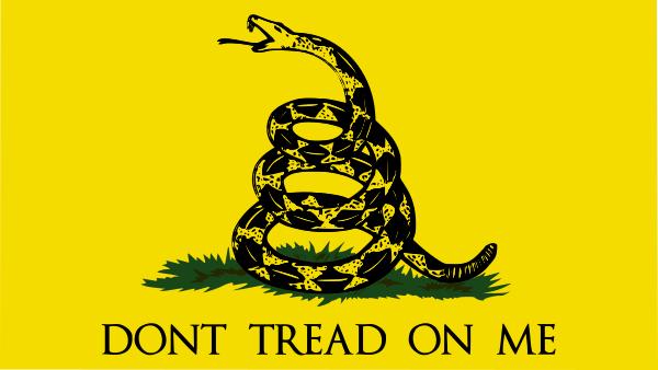 Gadsden Flag PUBLIC DOMAIN