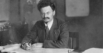 Leon Trotsky, a Marxist revolutionary and theorist, & founding leader of the Red Army