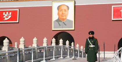 Mao Zedong, a founder of the People's Republic of China