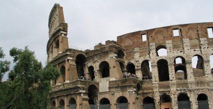 The Colosseum 'Flavian Amphitheatre', Rome, Italy