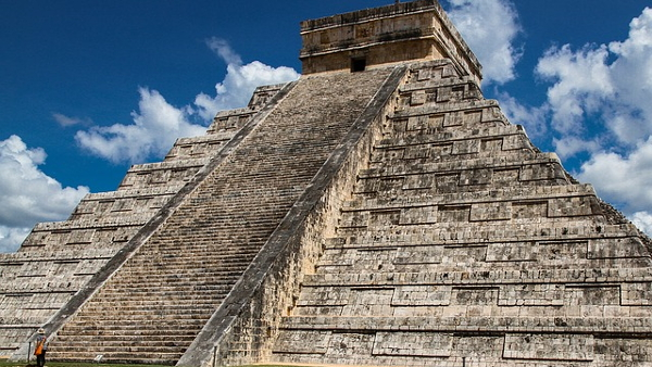 mayan pyramid PUBLIC DOMAIN