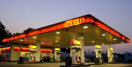 shell gas station oil prices PUBLIC DOMAIN