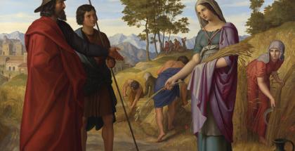 Ruth on the fields of Boaz by Julius Schnorr von Carolsfeld