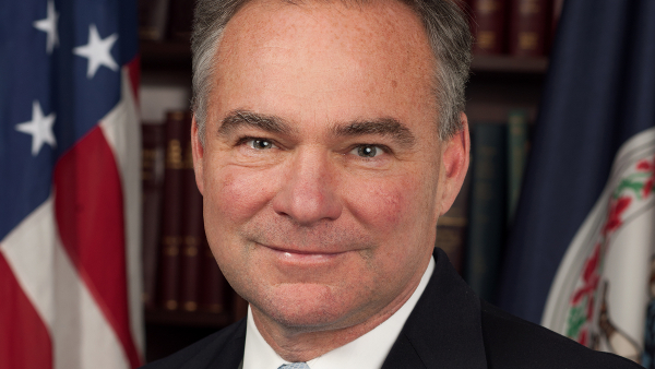 Timothy Michael 'Tim' Kaine, junior US Senator from Virginia, and nominee for Vice President for the Democratic Party